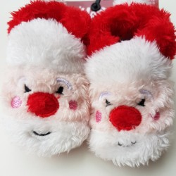 Baby kerst sokjes Kerstman