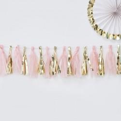 Tassel slinger roze en goud uit de artikel serie Oh Baby
