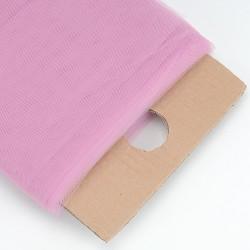 Tule rol oud roze 135 cm breed per meter of per rol van 36,5 meter