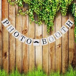 Banner Photo Booth met een vintage look
