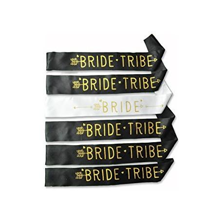 Sjerp Bride wit en Tribe zwart met goud