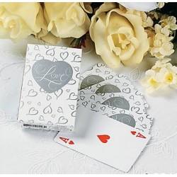 Kaartspel met de toepasselijke tekst Love