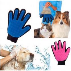 Handige en flexibele vacht verzorgende handschoen voor je huisdier