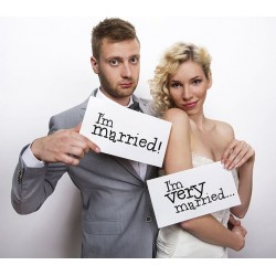 Foto props Funny cards I'm Married en I'm very Married