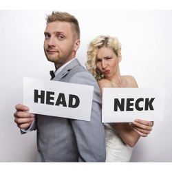 Foto props funny cards Head en Neck