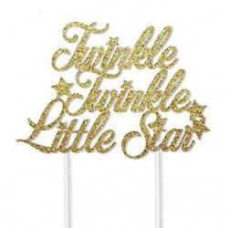 Taart topper Twinkle Twinkle Little Star