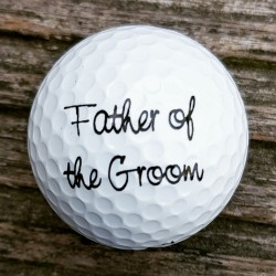 Golfbal Father of the Groom
