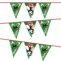 Voetbal vlaggenlijn Goal