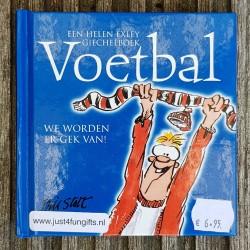 Giegelboek Voetbal we worden er gek van