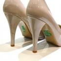 'I do' schoen sticker met strassteentjes groen