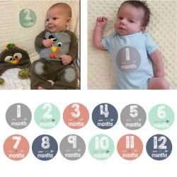 Baby en zwangerschap Milestone stickers Tribal