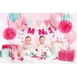 Aantrekkelijk geprijsde en super complete decoratie box I'm No. 1 roze