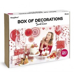 Aantrekkelijk geprijsde en super complete party box Love is Sweet
