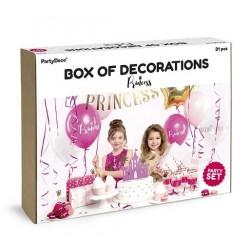 Aantrekkelijk geprijsde en super complete party box Princess