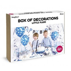 Aantrekkelijk geprijsde en super complete party box Little Plane