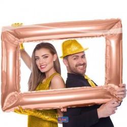 Selfie Frame Rose Goud rechthoek
