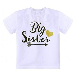 T-shirt Big Sister Tribal