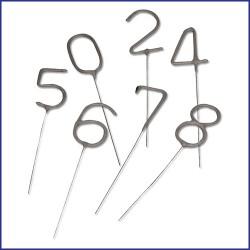 Sterretjes in de vorm van een cijfer