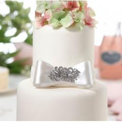 Bijzonder stijlvolle bruidstaart decoratie pin Jewel