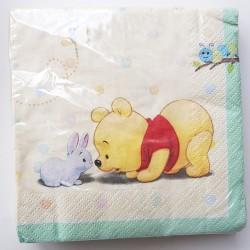 Babyshower servetten Winnie the Pooh and Friends