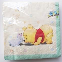 Babyshower servetten Winnie the Pooh and Friends