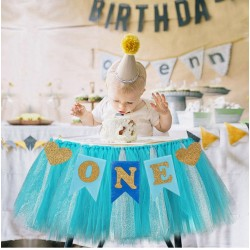 Banner Love my first Birthday blauw