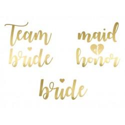 Bruidstatoeage set 13-delig goud