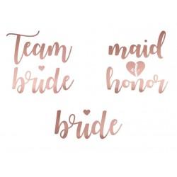 Bruidstatoeage set 13-delig rosé goud