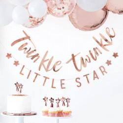Rosé gouden Twinkle Twinkle slinger