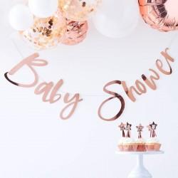 Slinger Babyshower rosé goud