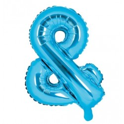 Folie ballon & blauw