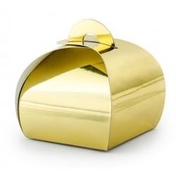 Bedankdoosjes metallic goud