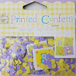 Babyshower confetti Nursery Friends