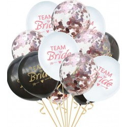 Ballonmix Bride to Be rose goud, wit en zwart