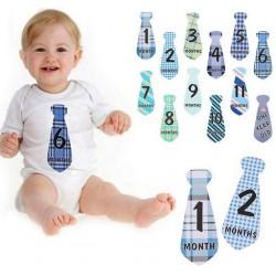 Baby Milestone t-shirt stickers stropdas