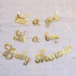 Banner Golden Baby in drie uitvoeringen