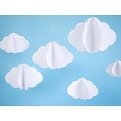 Decoratieset 3-delig Hanging Clouds