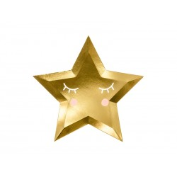 Bordjes Little Star goud