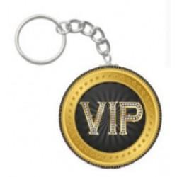 Sleutelhanger VIP rond