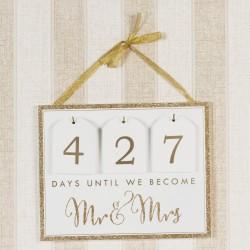 Always & Forever Countdown kalender voor de bruiloft
