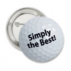 Button 'Simply the best'