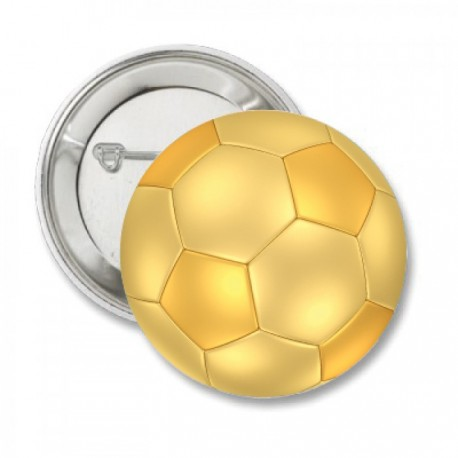 Button 'voetbal goud'