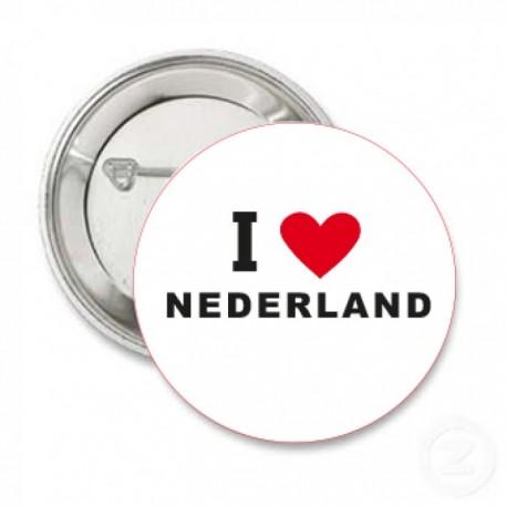 Button I love nederland