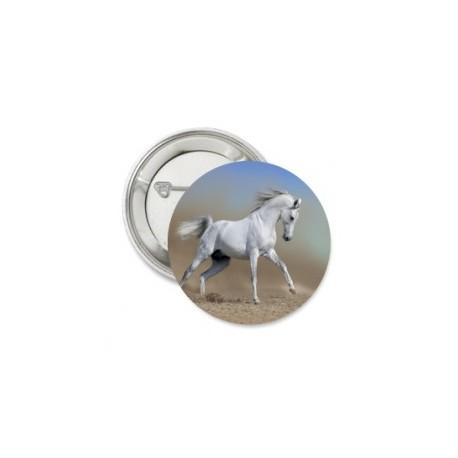 Button 'beautiful horse'