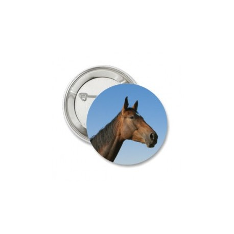 Button 'brown horse'