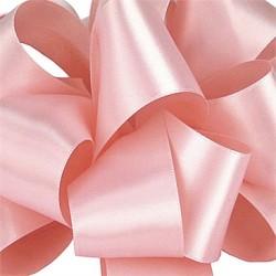 Blush Pink rol satijn lint van 25 meter lang en 4 cm breed