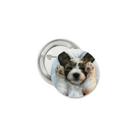 Button 'cute dog'