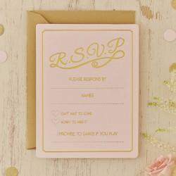 Pak met 10 RSVP cards Perfect Love