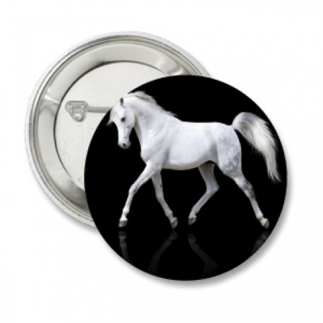 Button 'white arabier'
