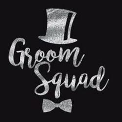 Groom Squad tatoeage zilver